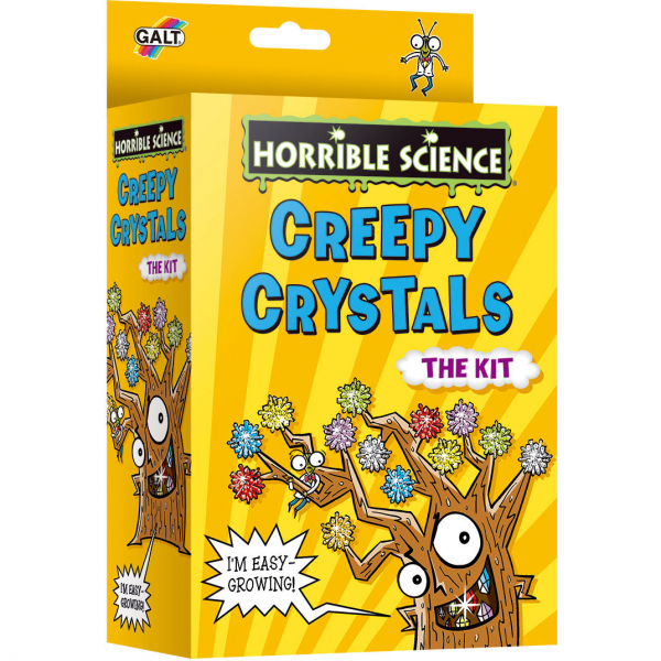 Galt Horrible Science: Cristale ciudate