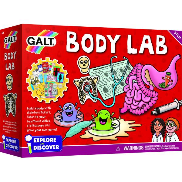 Galt Set experimente - Corpul uman 0