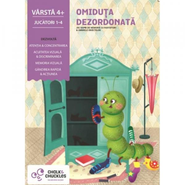 """Joc de memorie - """"Omiduta dezordonata"""" de la Chalk and Chuckles 0"""