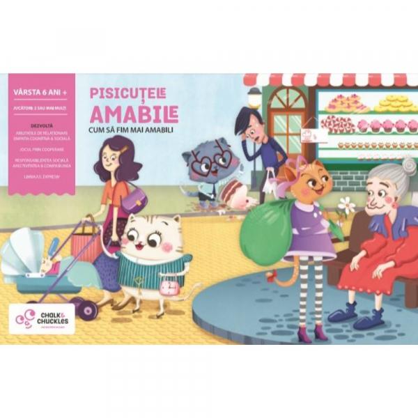 "Joc interactiv - ""Pisicutele amabile"" marca Chalk & Chuckles 0"