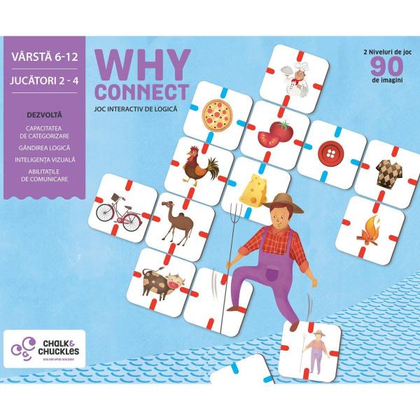 """Joc interactiv """"Why Connect?"""" de la Chalk & Chuckles 0"""