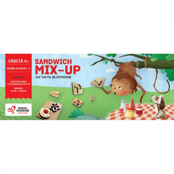 "Joc tactil - ""Sandwich Mix Up"" de la Chalk and Chuckles"