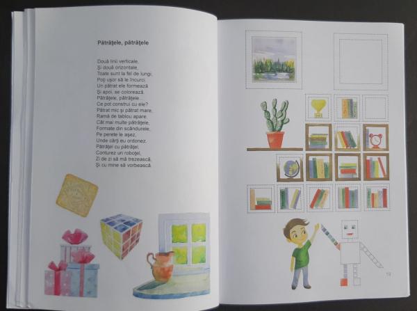 Magia punctelor - carte de poezii interactive pentru copii 6