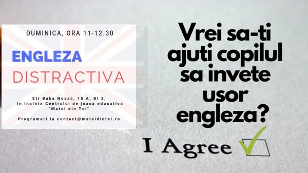 Engleza distractiva (2-5 Ani)