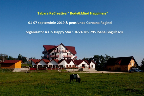 "Tabara ReCreativa ""Body&Mind Happiness"""