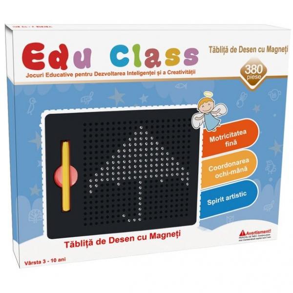 Tablita de desen cu magneti - 380 piese - marca Edu Class 0