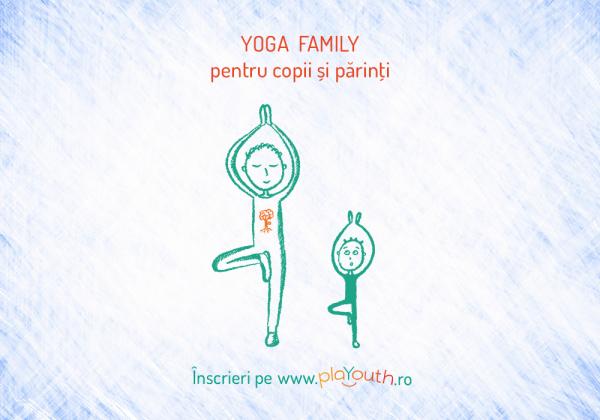 Yoga Family pentru copii și părinţi