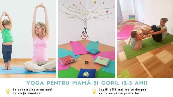Cursuri yoga pentru copii si mame 0