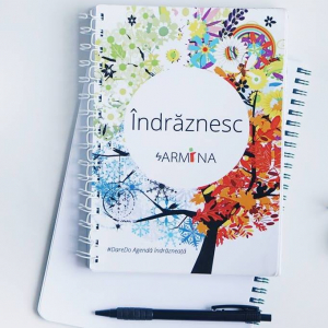 "Agenda ""Indraznesc"" by Armina0"