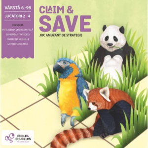 "Chalk and Chuckles Joc de strategie - ""Claim and Save""0"