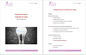 Curs Leadership – Primii pasi in managementul echipelor1