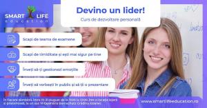 """""""Devino un LIDER!"""" - Curs Dezvoltare Personala adolescenti 12-18 ani"""