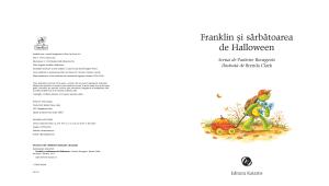 """""""Franklin și sărbătoarea de Halloween"""""""