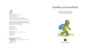 """""""Franklin cel dezordonat""""1"""