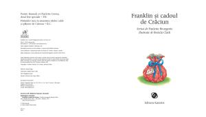 """""""Franklin și cadoul de Crăciun""""1"""
