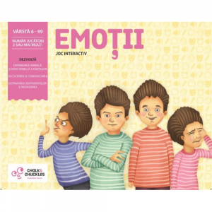 "Joc interactiv ""Emotii"" marca Chalk and Chuckles"