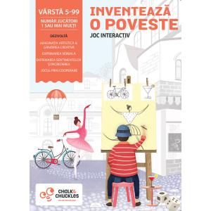 """Joc interactiv -"""" Inventeaza o poveste"""" de la Chalk and Chuckles"""