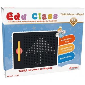 Tablita de desen cu magneti - 380 piese - marca Edu Class0