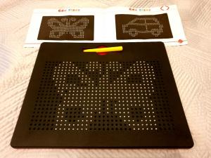 Tablita de desen cu magneti - 380 piese - marca Edu Class2