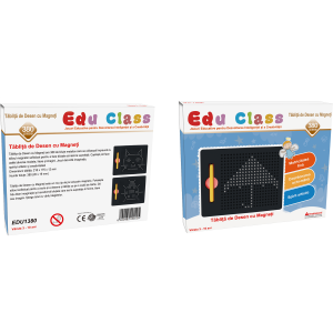 Tablita de desen cu magneti - 714 piese piese - marca Edu Class1