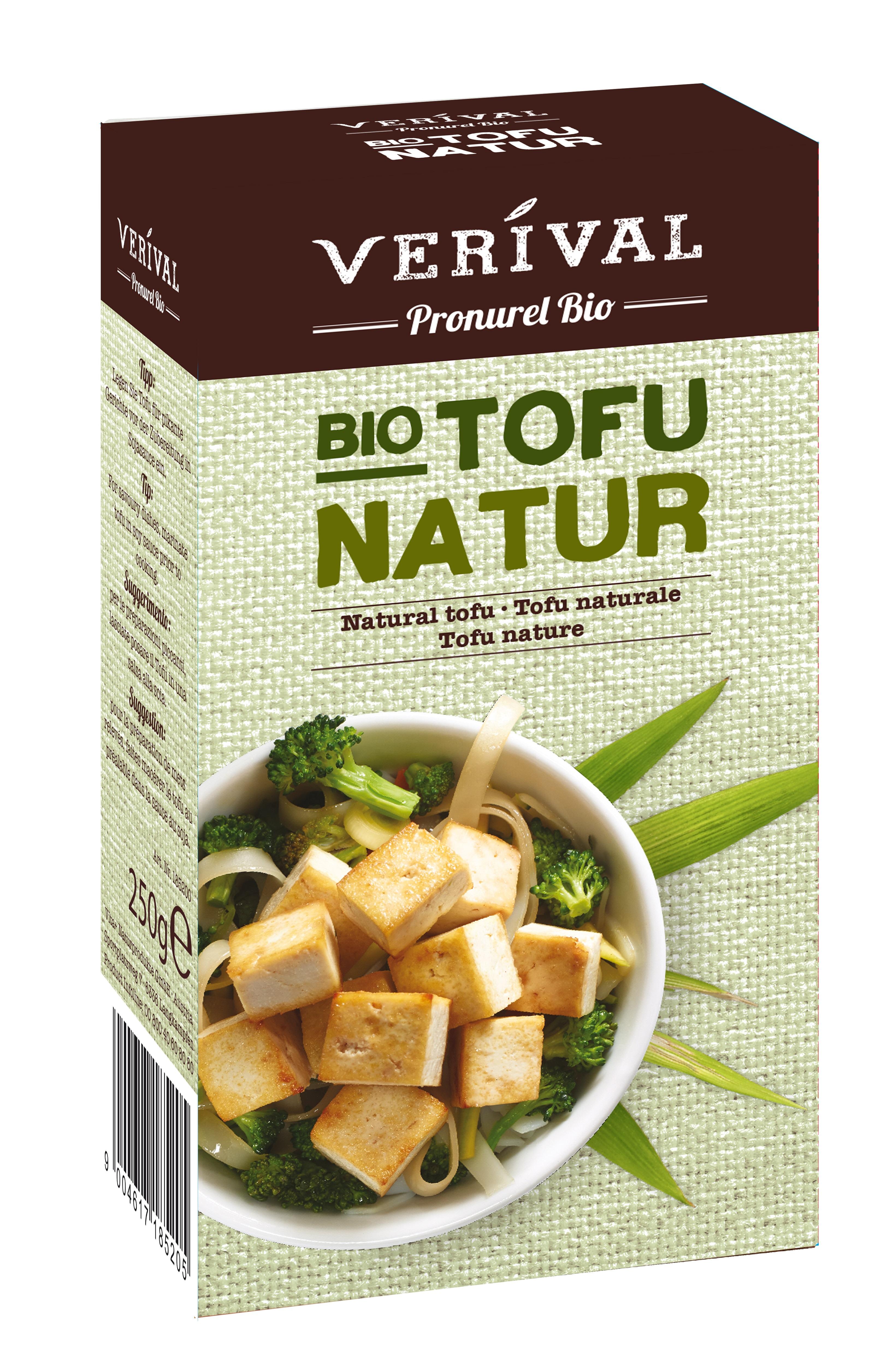 Tofu natural 250gr Verival Bio [0]