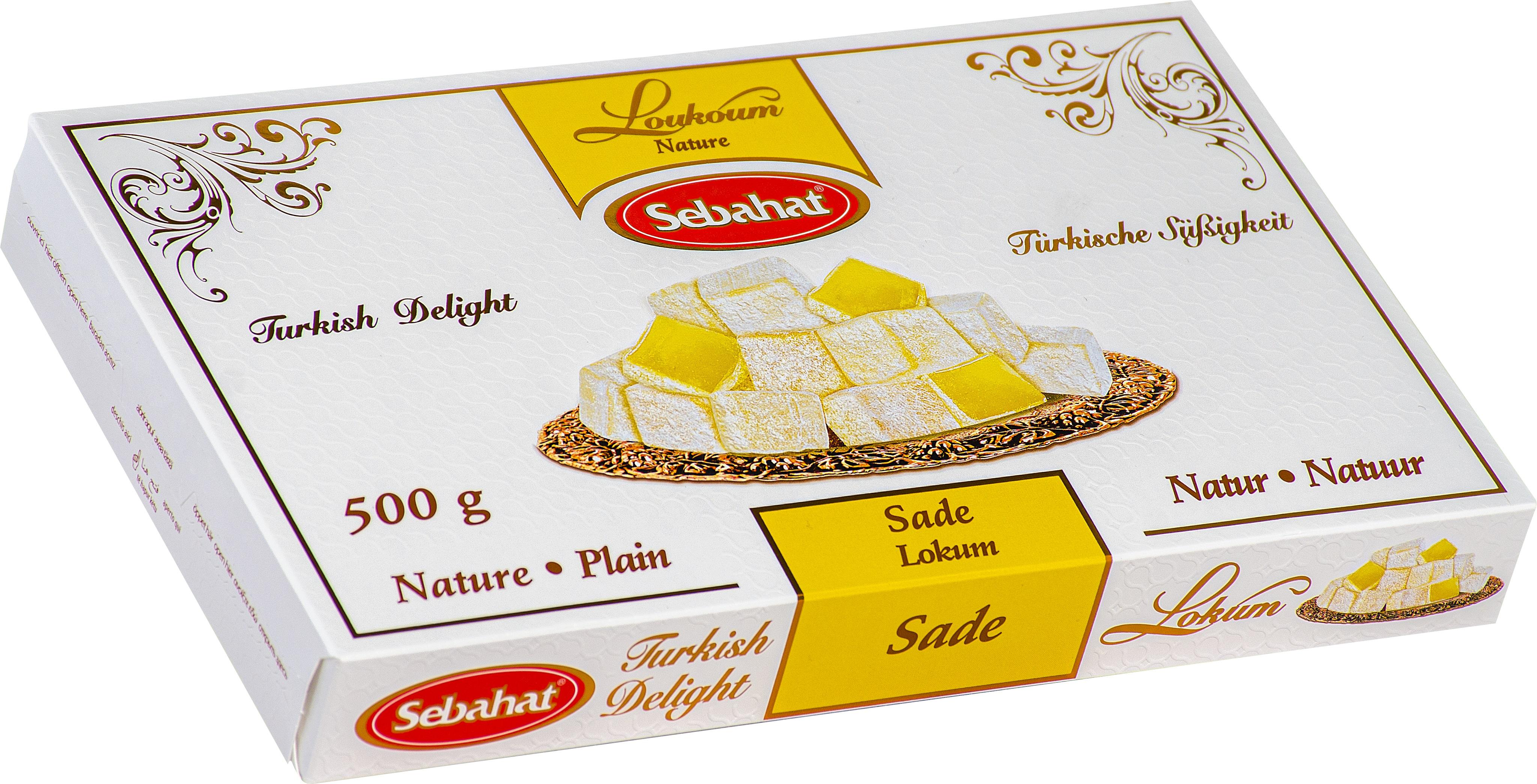 Rahat turcesc simplu 500 g Turkish Delight Sebahat [0]