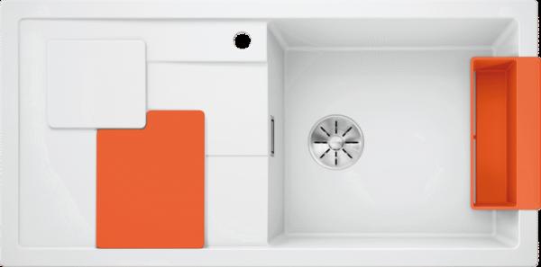 BLANCO SITY XL 6 S alb ( cu accesorii orange) 0