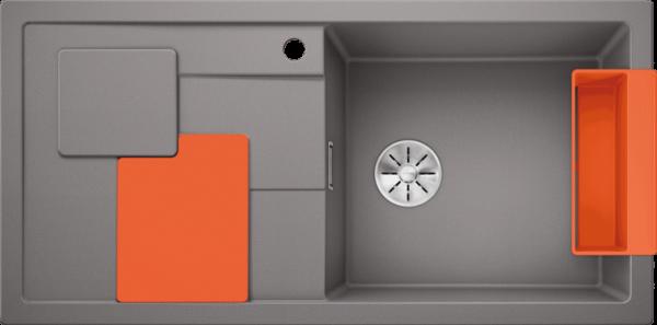 BLANCO SITY XL 6 S alumetallic ( cu accesorii orange) 0