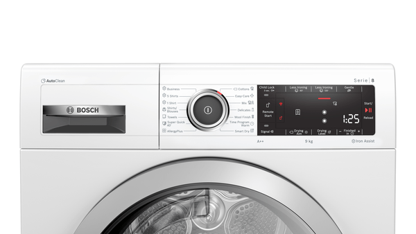 BOSCH WTX87KH1BY HOME CONNECT 1