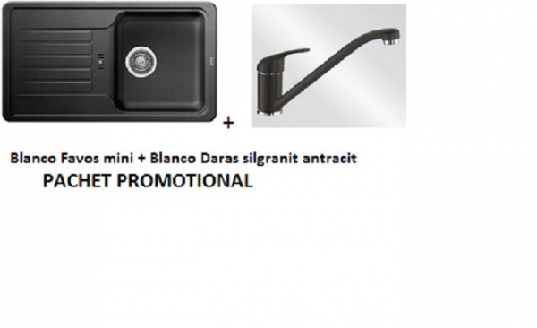BLANCO FAVOS MINI SILGRANIT ANTRACIT+DARAS ANTRACIT 0