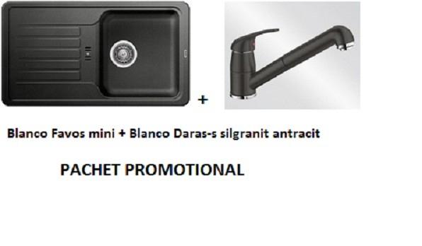 BLANCO FAVOS MINI SILGRANIT ANTRACIT +DARAS-S ANTRACIT 0