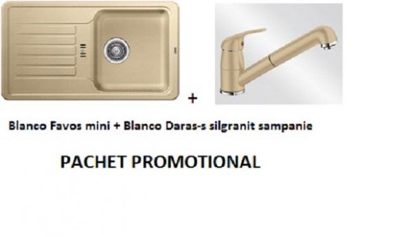 BLANCO FAVOS MINI SILGRANIT SAMPANIE +DARAS-S SAMPANIE 0