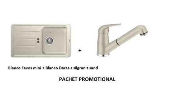 BLANCO FAVOS MINI SILGRANIT SAND +DARAS-S SAND 0