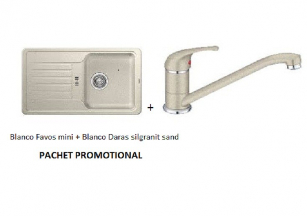 BLANCO FAVOS MINI SILGRANIT SAND +DARAS SAND 0