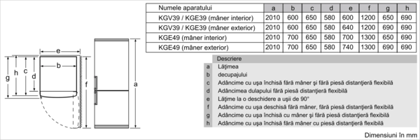 BOSCH KGE39ALCA 6