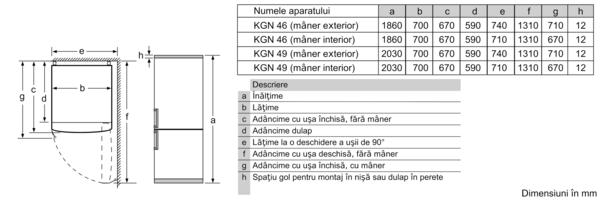 BOSCH KGN49XLEA 6