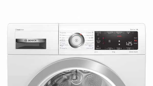 BOSCH WTX87KH0BY HOME CONNECT 1