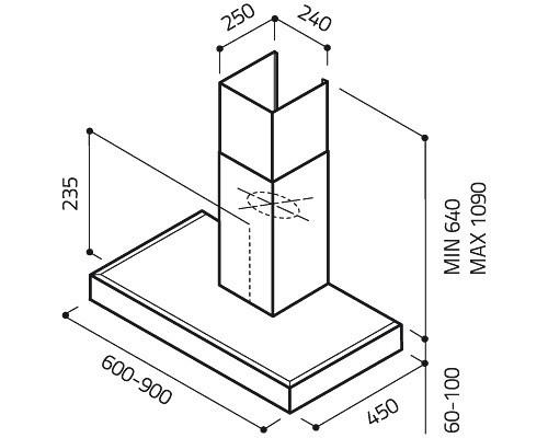 Elica SPOT NG H6 IX/A/60 [1]