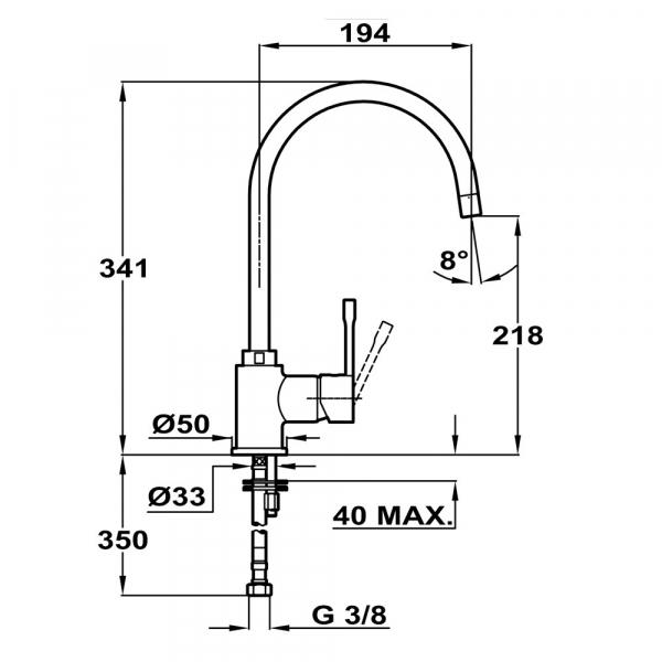 Teka SP 995 schwarzmetallic 1