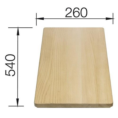 Tocator lemn de fag 540x260 mm ( 225 362) [0]