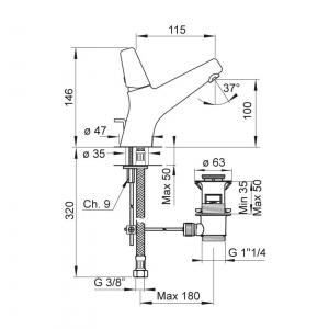 Baterie PONSI Rod LA021