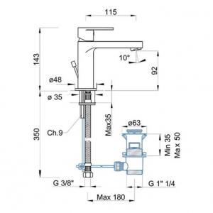 Baterie PONSI Versilia LAP11