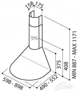 Elica TONDA IX/F/601