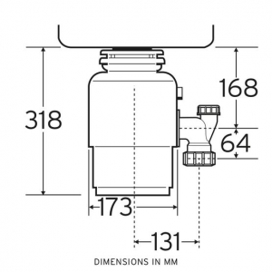 Insinkerator ISE56 cu actionare pneumatica [3]