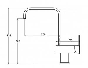 Pachet Aquasanita Tesa SQT100-710AW, chiuveta silgranit, cu baterie Signa  cartus ceramic alb [4]