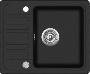 Pachet Aquasanita Notus SQ102-601AW,chiuveta silicsana, cu baterie Forte cartus ceramic, negru metalic5