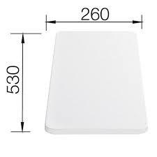 Tocator plastic 530X260 mm0