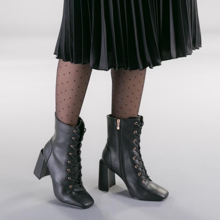Botine dama Patrias negre 1