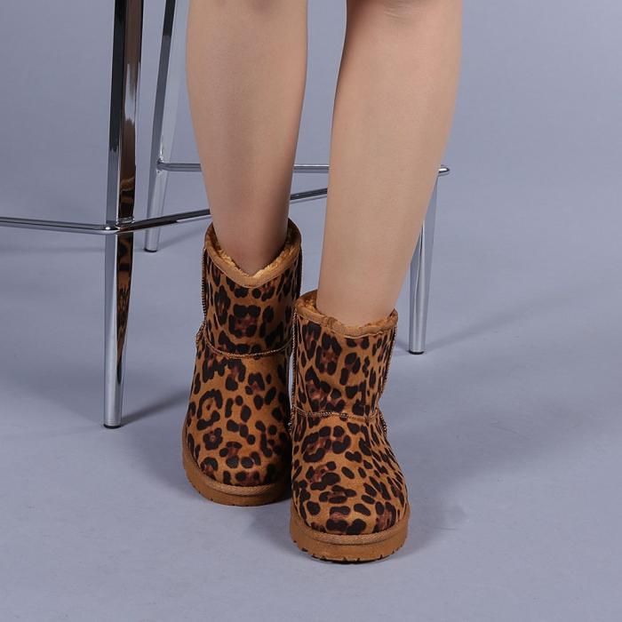 Cizme dama Trusha leopard 1