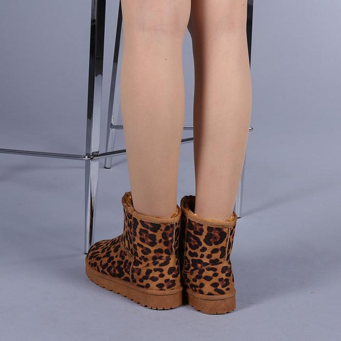 Cizme dama Trusha leopard 3